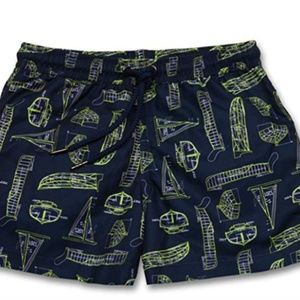 849125cf37 Sunuva nautical print Swim trunks
